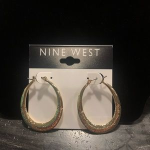 Small Teardrop Hoop Earrings